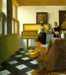 """The Music Lesson"" by Johannes Vermeer"