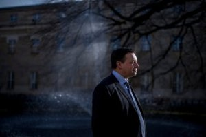 Michael Proffitt on the grounds of Oxford University Press. Credit Andrew Testa for The New York Times