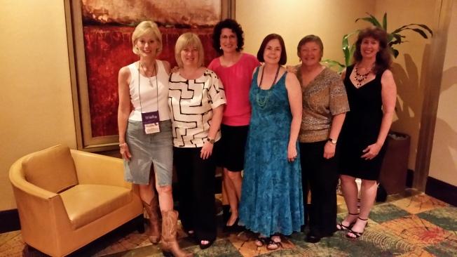 Kat, Jilly, Justine, Jeanne, Kay, Elizabeth